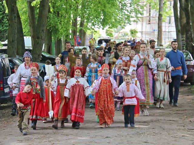 Троицкие гуляния на Городке. Звенигород. IMG_1525